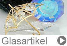 dekorative Glasartikel