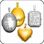 Medaillon Gold