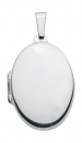 Anh�nger Medaillon oval 17x23mm Silber 925