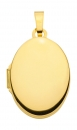 Medaillon oval 14x18mm 8Kt GOLD